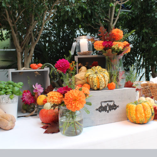 Eventdesign - Buffetdekoration Herbst