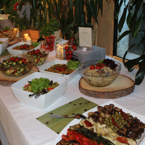Buffet - Salatvariationen