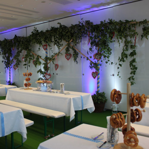 Eventdesign - Dekoration Oktoberfest