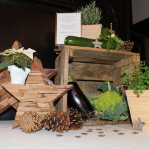 Eventdesign - Buffetdekoration, Weihnachten