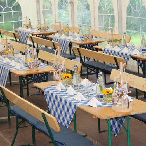 Eventdesign - Bayerische Dekoration